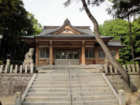 高針 高牟神社...名東区高針