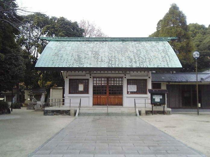 猪子石 神明社...名東区神月町