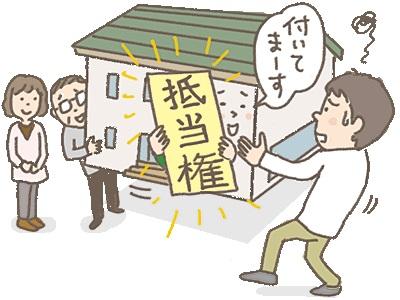 抵当権,東大阪,不動産,住家,すみか,sumika