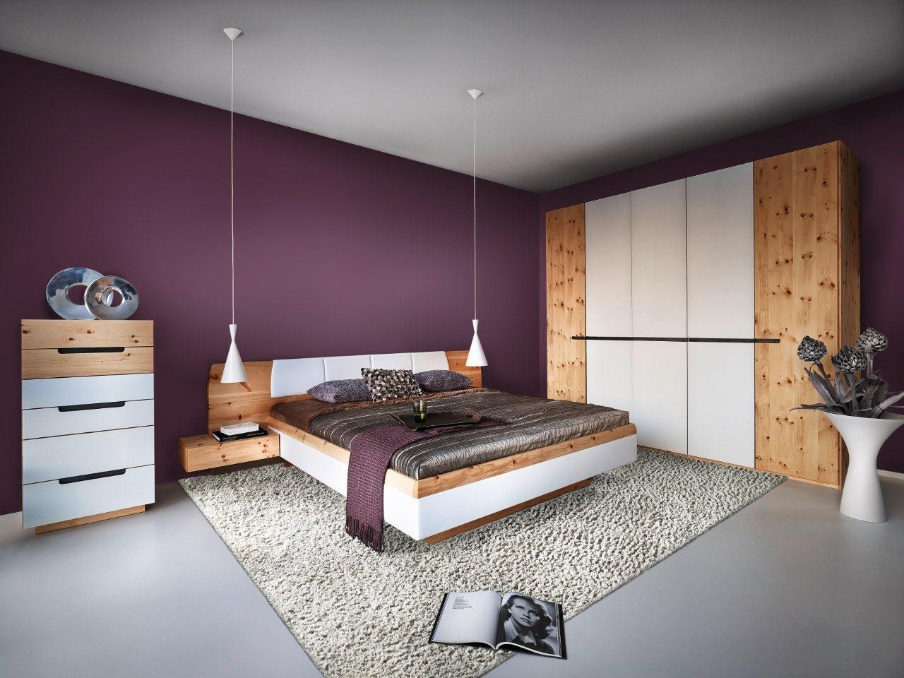 Zirbenschlafzimmer