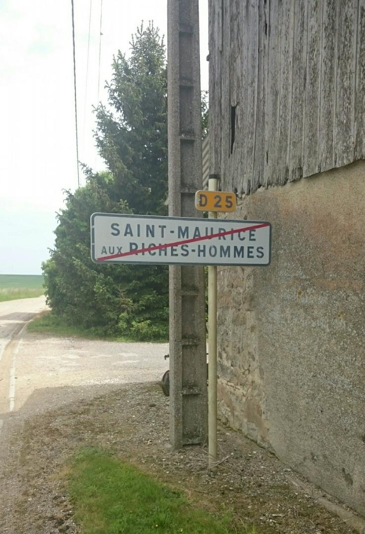 In Frankreich gibt es Reiche-Leute Orte! Auch gut, oder?