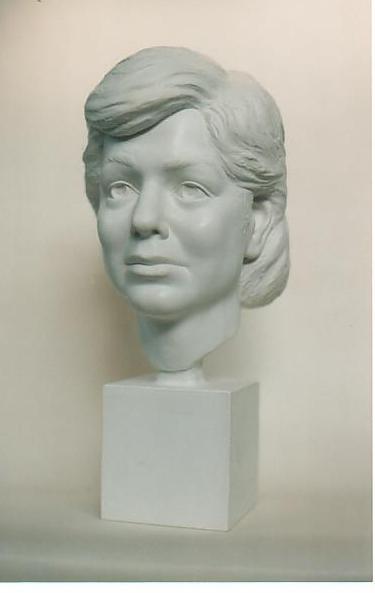 Griechin, Portrait, Gips