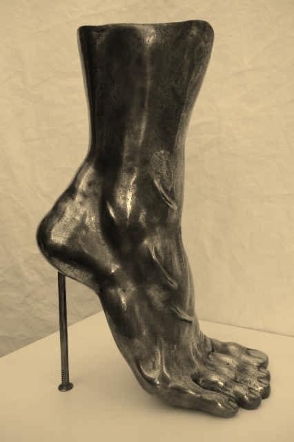 Highheel 2, Bronze - bronce