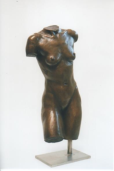 Sich Stützende, Bronze - bronce