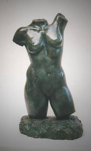 Torso, Bronze - bronce