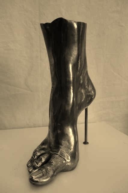Highheel 1, Bronze - bronce