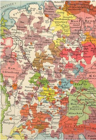 Kleinstaaterei im Mittelalter