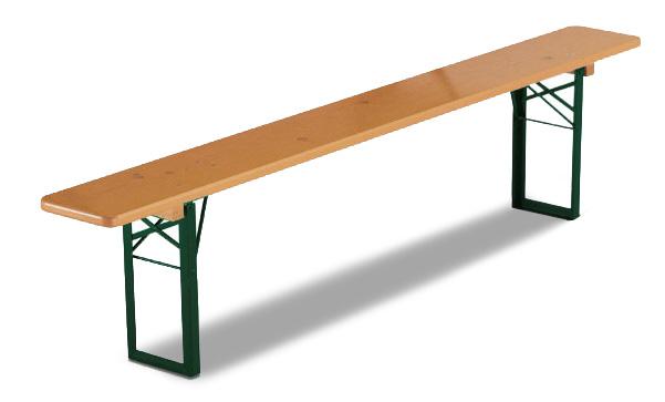2 Sitzbänke (0,20 x 220cm) mit Lehne > Fr. 7.50/Stk.