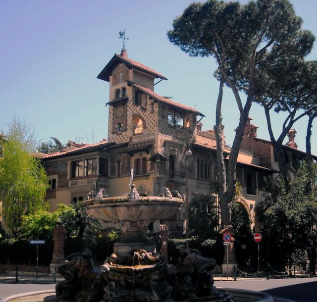 Villino delle Fate - Quartiere Coppede a Roma - Decorato e restaurato da Antonio Rosa nel 1954 - Rosa Decorazioni