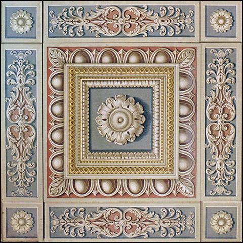 decorazioni-classiche-per-soffitti - Rosa Decorazioni - Roma