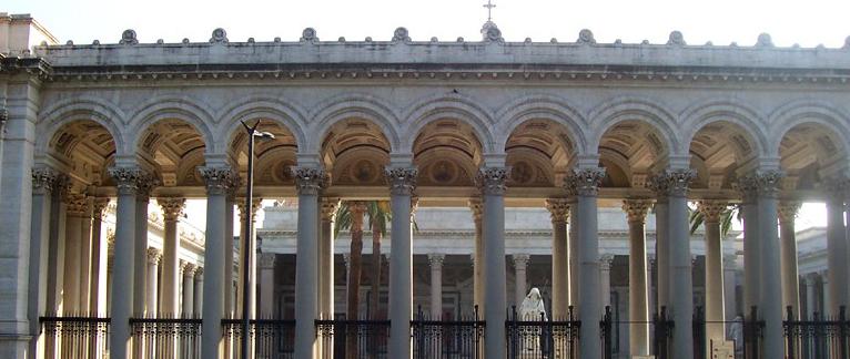 Restauro dei 12 Apostoli della Basilica di San Paolo Fuori Le Mura a Roma - Antonio Rosa - Rosa Decorazioni