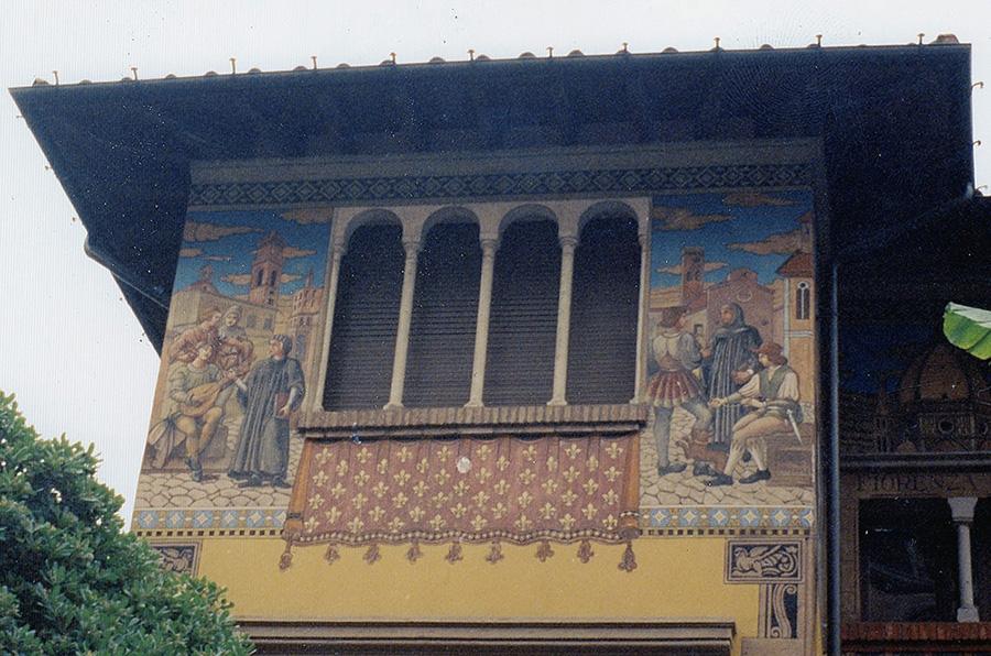 Villino delle Fate - Quartiere Coppede - Roma - Decorazioni e restauri di Antonio Rosa - Rosa Decorazioni