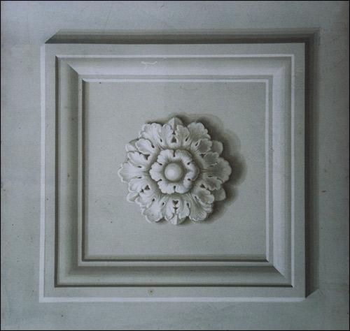 Decorazione - Rosoni decorati - Rosa decorazioni