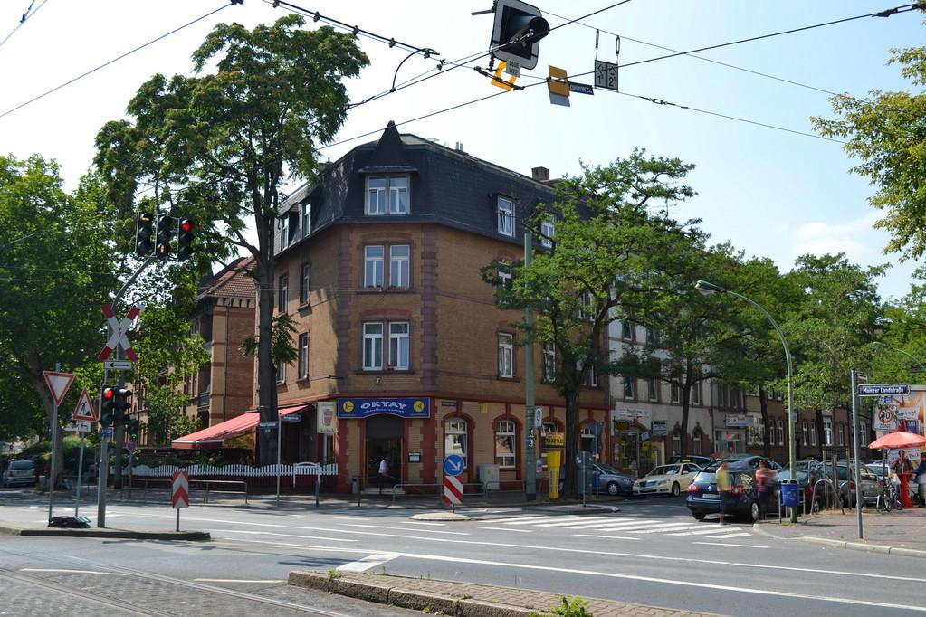 Frankurt am Main - Gallus - Galluswarte - Mainzer Landstr. / Hufnagelstr.