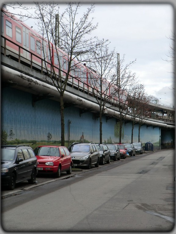 Frankurt am Main - Gallus - Galluswarte - S-Bahnstation  - Gunderrodestr.