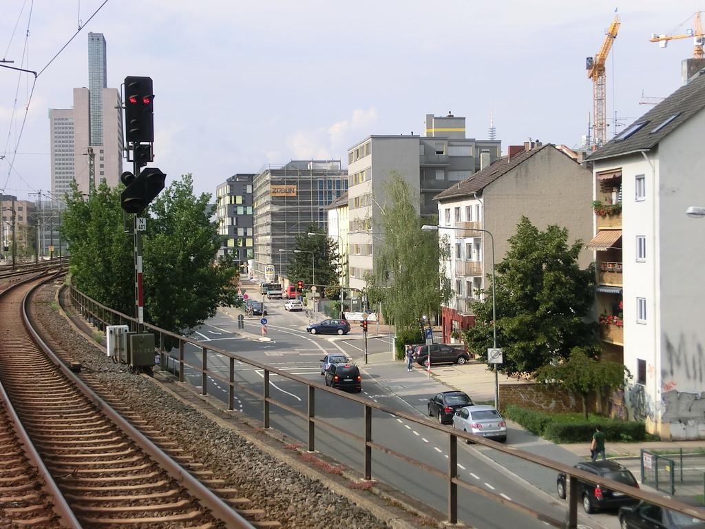 Frankfurt am Main - Gallus - Günderrodestr. / Kölner Str.