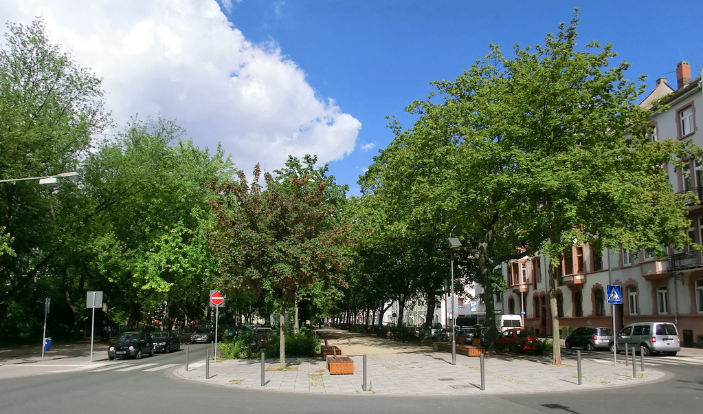 Frankfurt am Main - Gallus - Frankenallee / Krifteler Str.