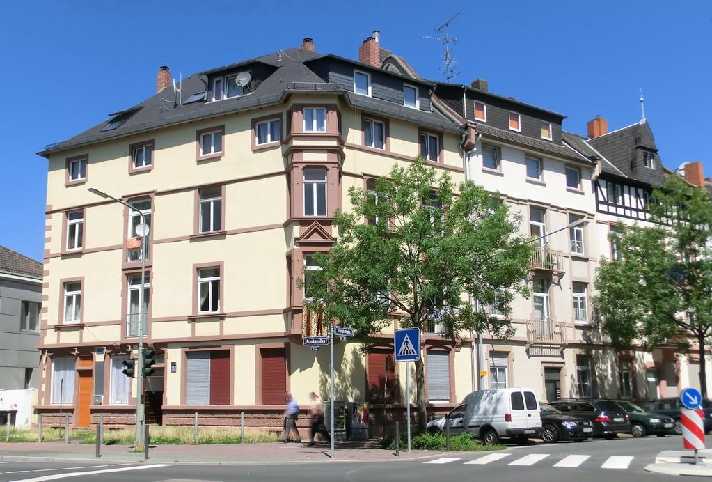 Frankfurt am Main - Gallus - Frankenallee / Kriegstr.