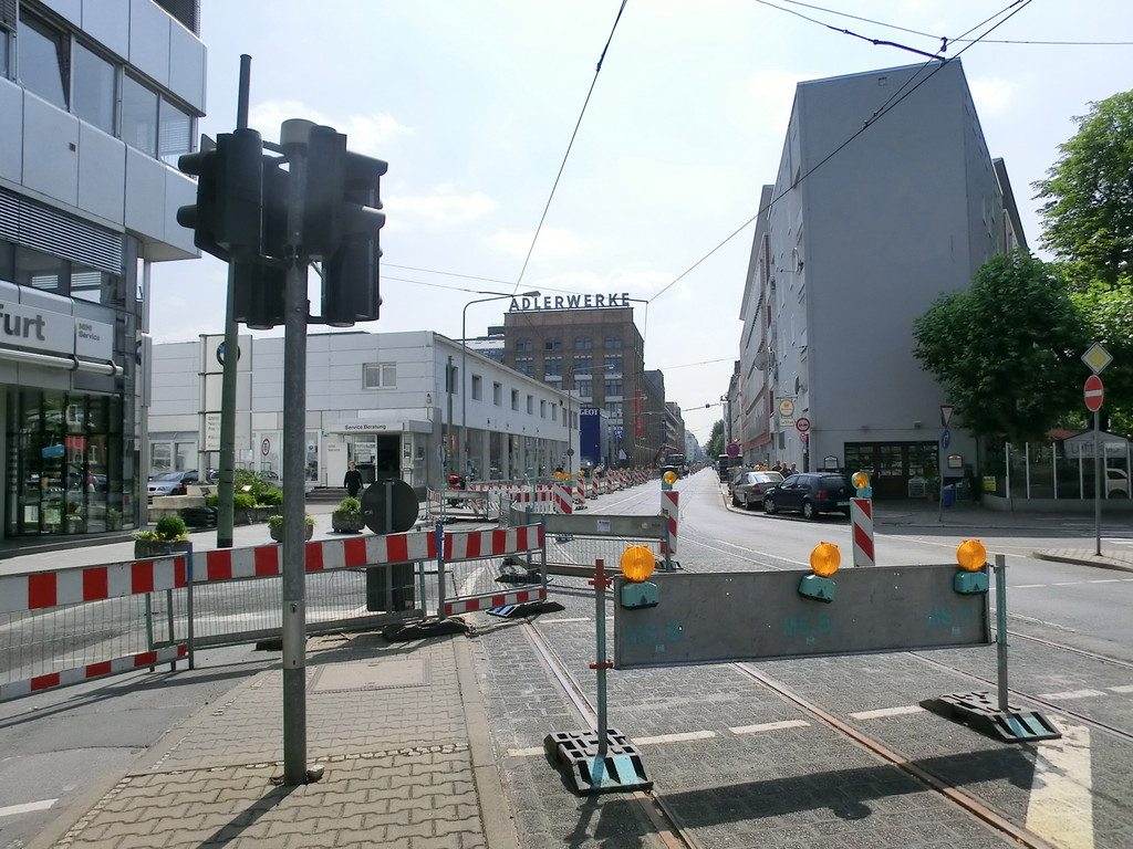 Frankurt am Main - Gallus - Galluswarte - Mainzer Landstr. / Kleyerstr.