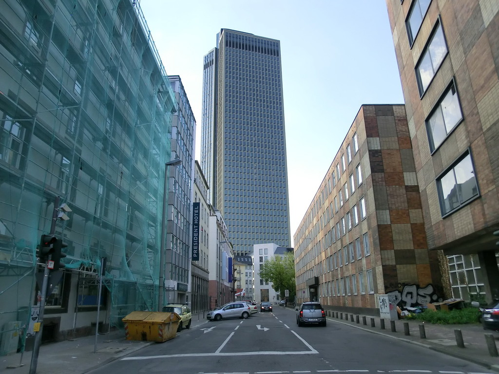 Frankfurt am Main - Gallus - Tower 185 - Ludwigstr.
