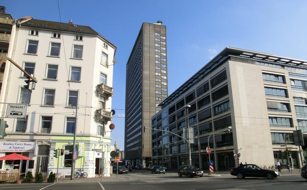 Frankfurt am Main - Gallus -  Mainzer Landstr. / Hafenstr.