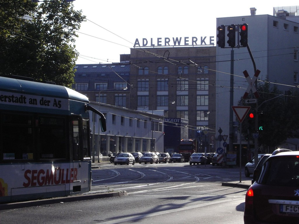 Frankurt am Main - Gallus - Galluswarte - Mainzer Landstr. / Kleyerstr. - ehem. Adlerwerke