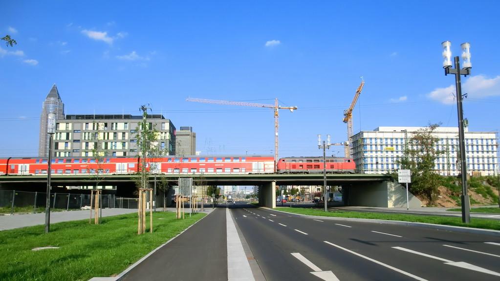 Frankfurt am Main - Gallus - Europa Allee