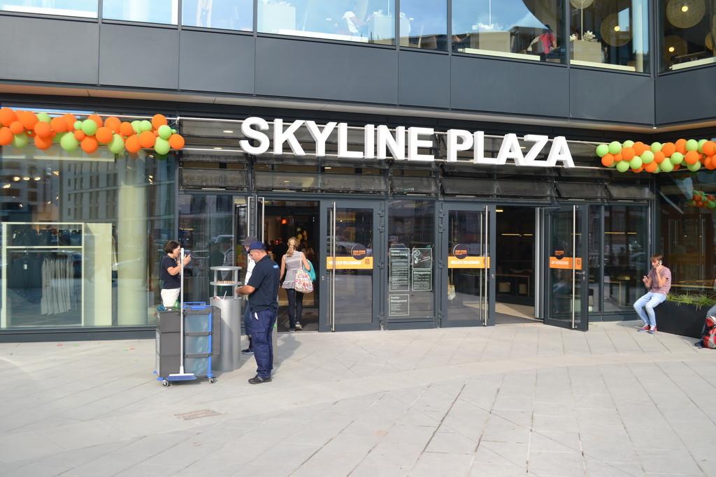 Frankfurt am Main - Gallus - Europa Allee - Skyline Plaza