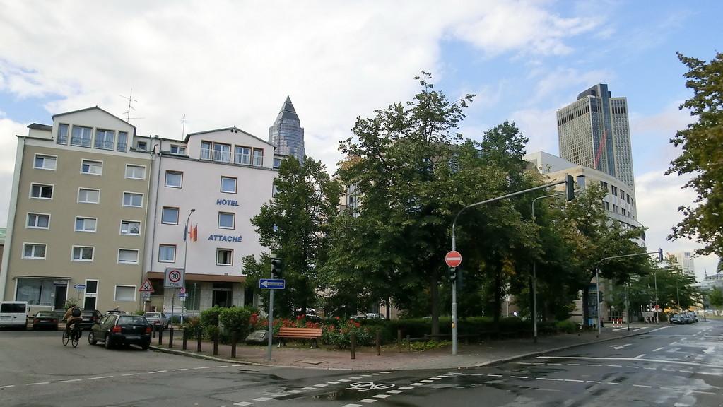Frankfurt am Main - Gallus - Frankenallee / Kölner Str.