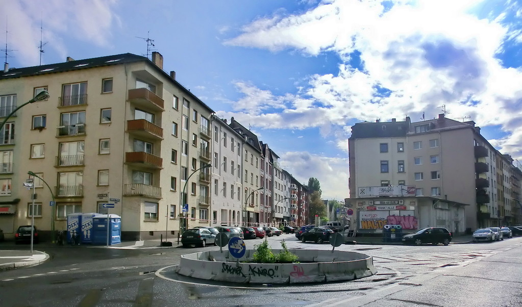Frankfurt am Main - Gallus - Kölner Str. / Koblenzer Str.