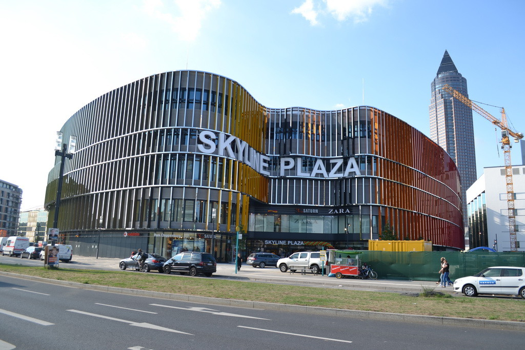 Frankfurt am Main - Gallus - Europa Allee / Güterplatz - Skyline Plaza