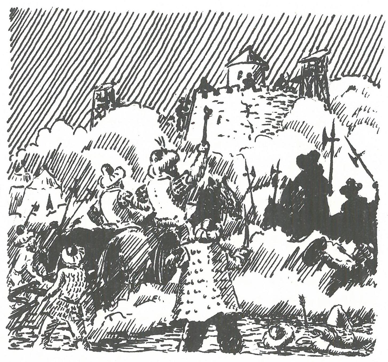 Lossow Türkenkriege von Gunther Czyrnik aus Ellsleben