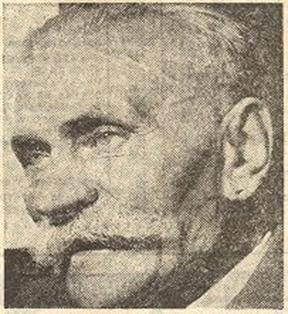 So sah Otto Witte (1871-1958)im Alter aus - ein Bruder fast vom Hauptmann von Köpenick