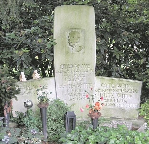 Otto Witte Familiengrab Friedhof Hamburg Ohlsdorf