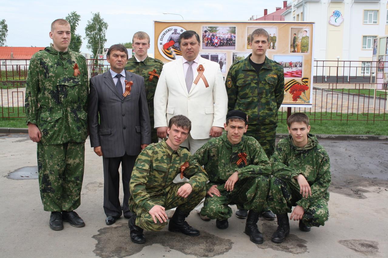 Глава администрации Бондарского района Воробьев А.А.