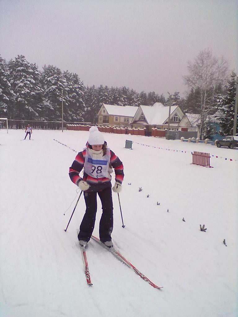 Участница команды Теплякова Светлана.