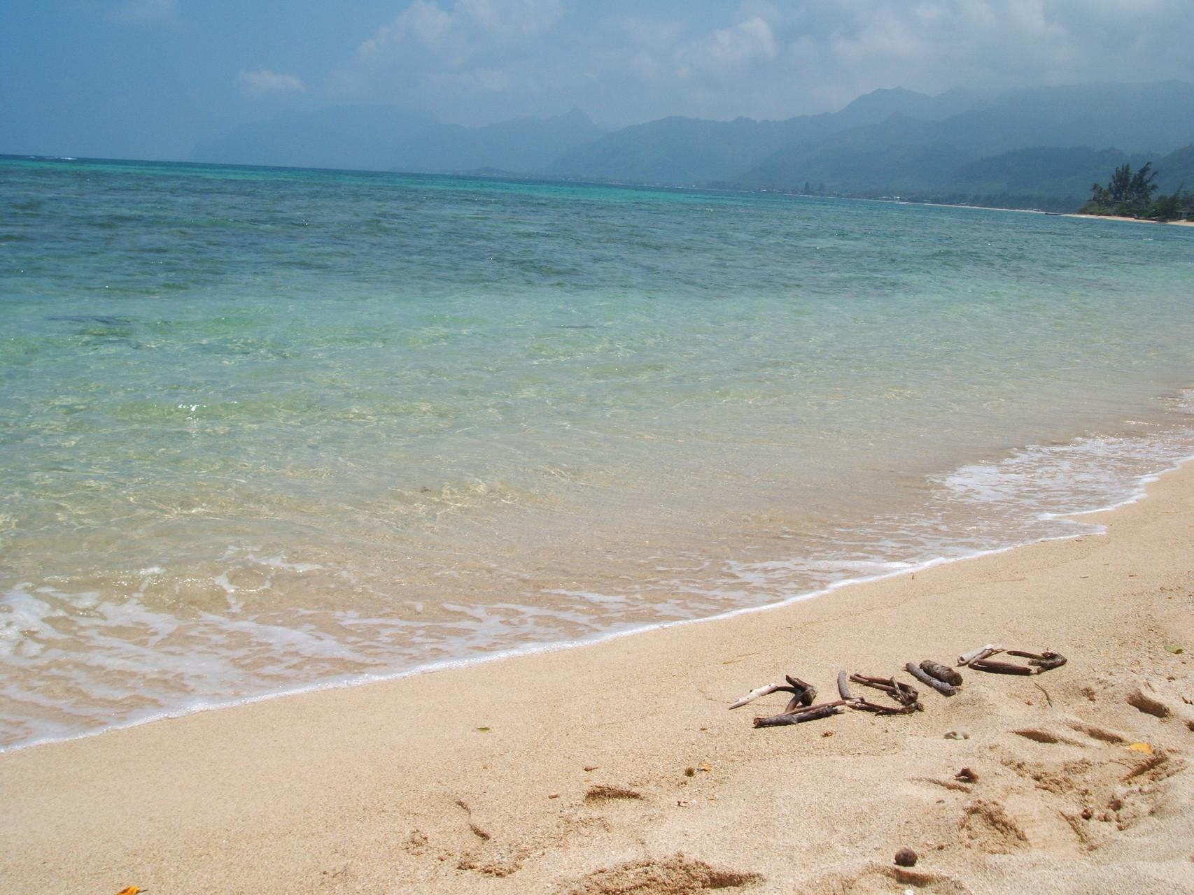 観光客はほとんどこない穴場ビーチ。こんなにキレイ。