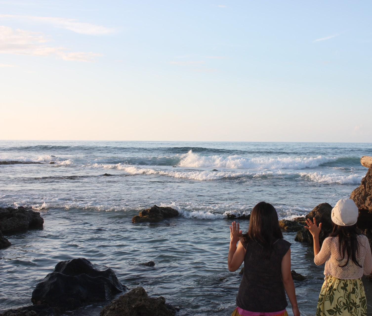私を愛することをハワイの海に誓います!