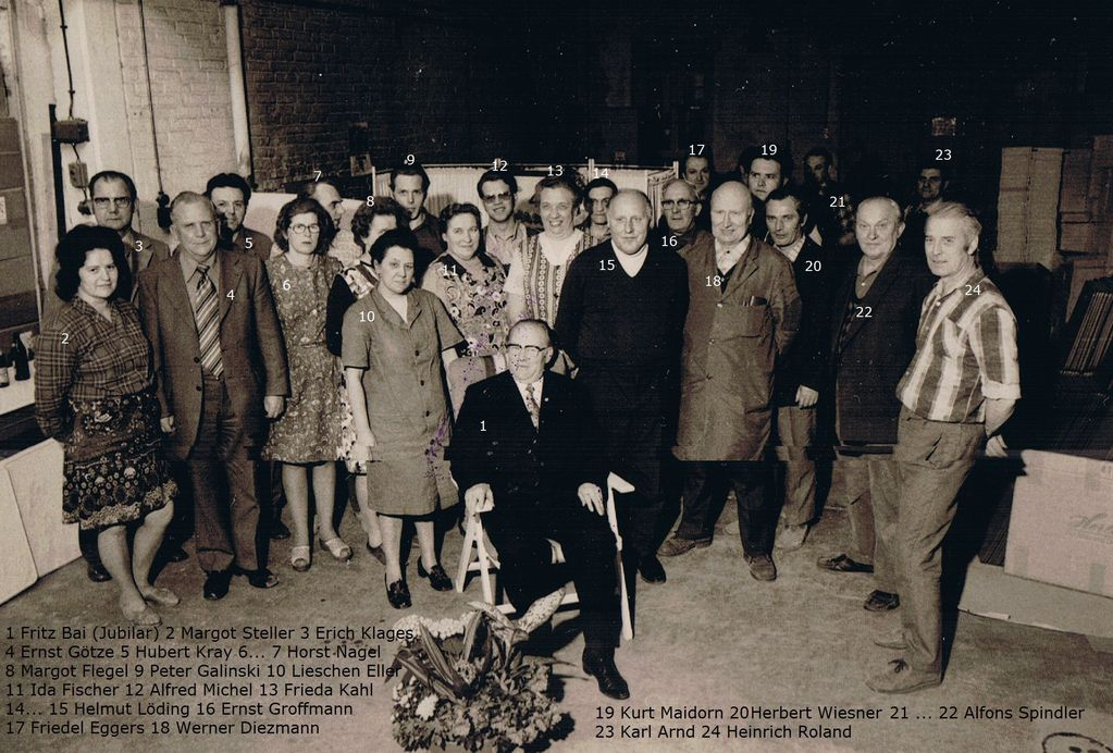 40 Jahre Jubiläum - Fritz Bai