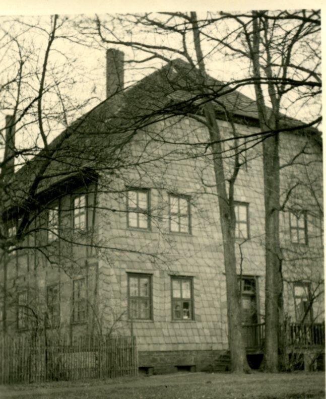 Das alte Pfarrhaus (Westansicht)