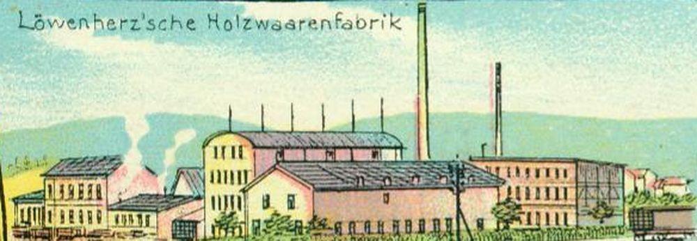 Ausschnitt aus einer Ansichtskarte von 1903