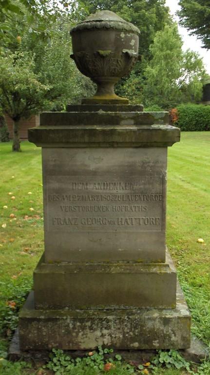Gedenkstein hinter der Kirche II