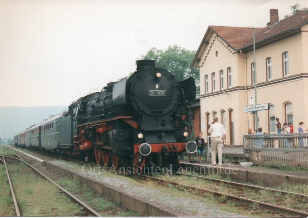 Dampfloksonderfahrt 1996
