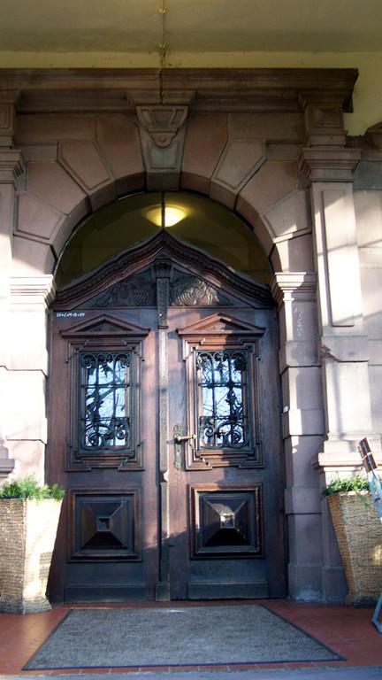 Tür Villa Löwenherz