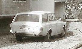 Typ: Ford Taunus 17M Kombi  Eigentümer Duits / Bierverlag