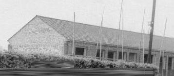 Rohbau des neuen Schulgebäudes