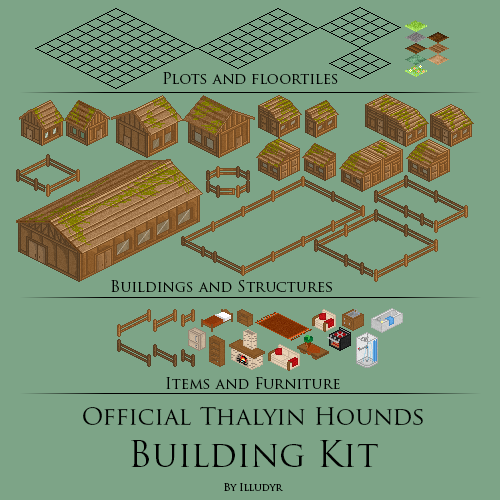 Building kit for people joining the online ARPG based around this species