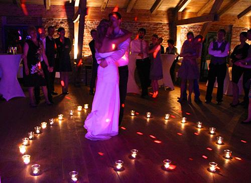 Kerzentanz auf Gut Valenbrook