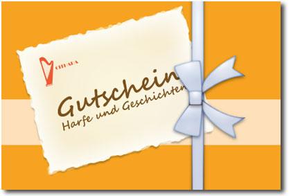 Gutschein - Harfe und Geschichten