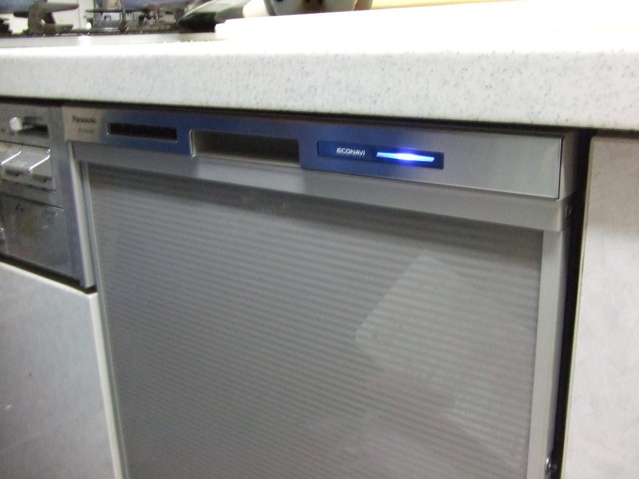 高機能食洗機の交換設置完了。